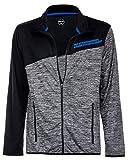 Brandsseller Herren Sweatshirt Fitness-Jacke - Reißverschluss - Atmungsaktiv - Regular Fit - L