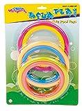 6 Stück Tauchringe - bunt - 2 Größen Tauchspielzeug wasserbefüllbar