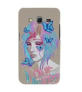 Mental Mind 3D Printed Plastic Back Cover For Samsung Galaxy Core Prime- 3DSAMCOREPRIME-G798