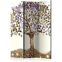 murando - Biombo - de impresion bilateral en el lienzo de TNT de calidad - Decoracion cuarto - Biombo de madera con imagen impresa - l-A-0002-z-b