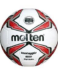 Molten Uni f9V1900de LR Futsal, blanc, 4