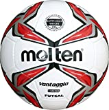 molten F9V1900-LR Futsal, Weiß, 4