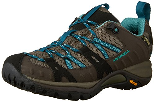Merrell Siren Sport, Women's Lace-Up Hiking Shoes - Espresso/Mineral, 5 UK