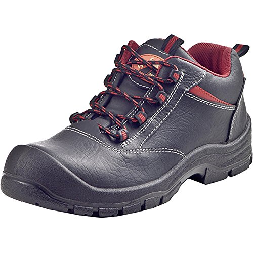 Sicherheitsschuhe Leder, Halbschuhe, Stiefel schwarz 640914-1 schwarz
