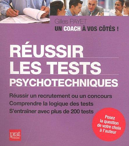 Réussir les tests psychotechniques