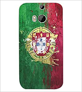 PRINTSWAG SYMBOL Designer Back Cover Case for HTC ONE M8s