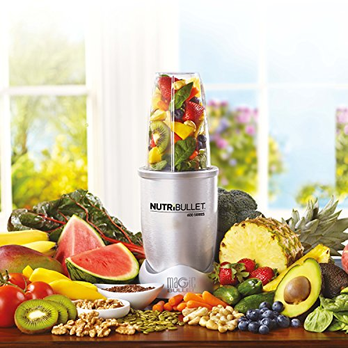 NUTRiBULLET 600 Series Blender 12 piece deluxe set, 600 W – White