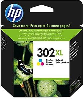 HP F6U67AE 302XL Cartucho de Tinta Original de alto rendimiento, 1 unidad, tricolor (cian, magenta, amarillo) (B00VYAWKJY)   Amazon price tracker / tracking, Amazon price history charts, Amazon price watches, Amazon price drop alerts