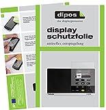 dipos I 3X Schutzfolie matt passend für TechniSat Digitradio 215 Folie Displayschutzfolie