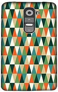Timpax Hard Back Case Cover Printed Design : A multicolour designers pattern.Precisely Design For : LG G2 mini ( D618 )