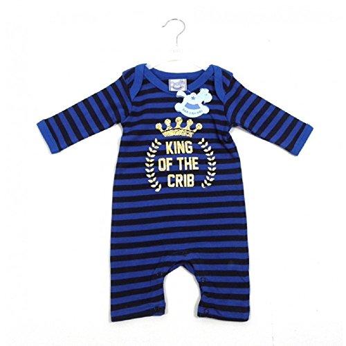 1ec03161663ab Rock a Buy Baby - Grenouillère - Bébé (garçon) 0 à 24 mois bleu