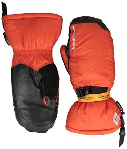 Black Diamond Super Light Mitts Handschuhe mit GORE-TEX-Einsatz / Wasserdichte Fausthandschuhe zum Bergsteigen mit griffiger Handfläche / Unisex, Octane, Größe: M