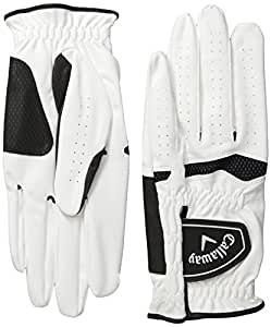 2014 Callaway Xtreme 365 Mens Golf Gloves**Pack of 2** Left Hand (For the Right Handed Golfer) White Small