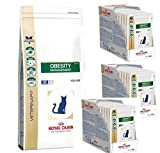 PolBaby Royal Canin Obesity Management Trockenfutter 6 kg + 36 x 100g Nass