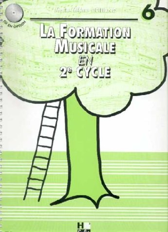 Partition : La Formation musicale en 2ème Cycle - Cycle - Volume 6