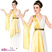 Adulto Mujer Diosa Griega Toga Disfraz Halloween / Carnaval (M - 42/44)