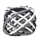 Xshaui 100 gramm schrumpfungsfest Kammgarn Super Weiche Glatte Naturseide Wolle Garn Stricken Pullover Stricken Chenille Garn (M)