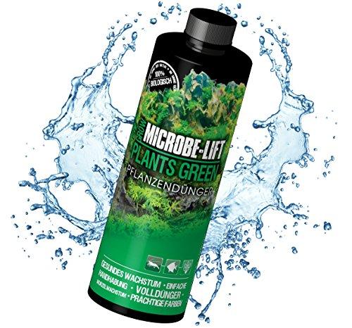 MICROBE-LIFT Plants Green – Flüssiger Dünger für Aquarium Pflanzen, 118 ml
