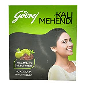 Godrej Kali Mehendi, 3g (8 Sachets)