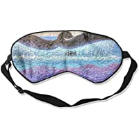 Sleep Eye Mask Whale Tail Art Lightweight Soft Blindfold Adjustable Head Strap Eyeshade Travel Eyepatch preisvergleich bei billige-tabletten.eu