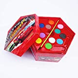 BabyBaba Colors Box Color Pencil ,Crayons, Water Color, Sketch Pens Set of 46 Pieces (Random) (Cars)