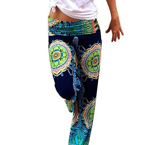 Bodhi2000 -  Pantaloni  - Donna Dark Blue