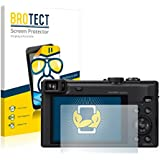 2x BROTECT HD-Clear Protector Pantalla Panasonic Lumix DMC-TZ60 Película Protectora – Transparente, Anti-Huellas
