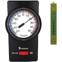 Fensterscheibenthermometer Analogthermometer Fenster  Außenthermometer 4 St Set