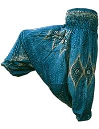 PANASIAM Aladin Harem Pants, im wunderschönen Peacock-style, passt S-M, in vielen Farbvariationen