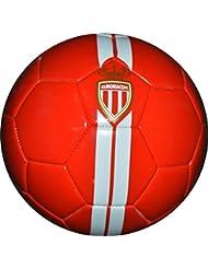 Ballon de football ASM - Collection officielle AS MONACO - Taille 5 - Supporter - Ligue 1
