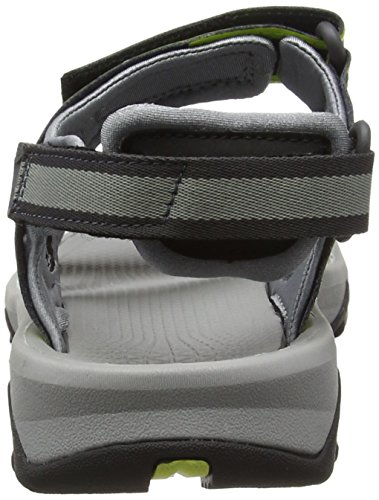 The North Face - Hedgehog II - Des sandales homme Multicolore (Griffin Grey/Lantern Green _ Gqx)
