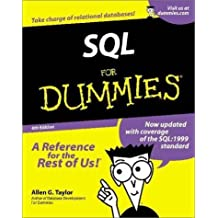 SQL For Dummies (For Dummies (Computers)) by Allen G. Taylor (2001-03-01)