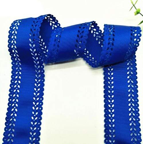 LIMMC 10089 45mm Hohlspitzenband 10 Meter DIY Geschenkverpackung Haar festen Kopfschmuck Nähen Stoff Handgefertigte Band Grosgrain-Bogen, 11