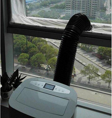 22 99 joyooo airlock tanchit de fentre hot air arrt pour mobile units de climatisation bche - Kit finestra condizionatore portatile ...