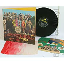 THE BEATLES. Sgt Peppers Lonely Hearts Club Band. UK MONO first press, sold in the UK, 1967 on yellow and black Parlophone EMI label