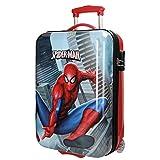 Spiderman City Valigia per bambini, 55 cm, 34 liters, Multicolore (Multicolor)