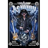 "Pyramid International ""Commemorative Lemmy Maxi Poster, Multi-Colour, 61 x 91.5 x 1.3 cm preiswert"