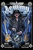 Poster, Plakat - Lemmy - Commemorative, (61 x 91,5 cm), Stilvolle Bilder, die Ihnen helfen, die Wohnung oder das Büro zu erleuchten. Qualitätsgarantie. Das perfekte Design, Linien und Farben bringen in Ihr Haus die richtige Atmosphäre., 61 x 91,5 cm