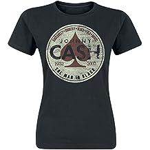 Johnny Cash Spade Genre Girl-Shirt schwarz