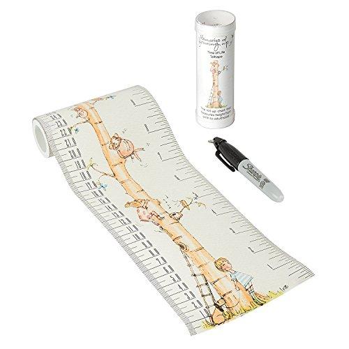 Talltape (Baum) - Tragbare, Roll-up Messlatte Plus 1 Sharpie Mini Marker Pen, um Kinder von der Geburt bis zum Erwachsenenalter messen zu können - Auswahl an Designs