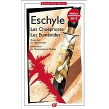 Les Choéphores. Les Euménides (prépas scientifiques 2011-2012)
