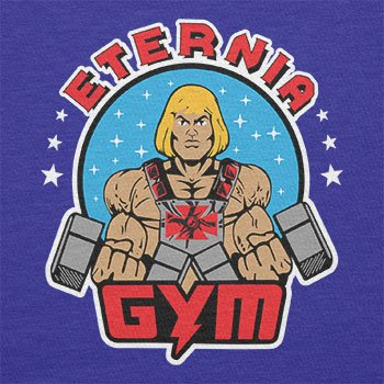 TEXLAB - Eternia Gym - Herren Langarm T-Shirt Marine