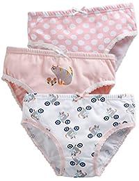 Vaenait Baby 86-122 Maedchen unterhosen 3 Stueck in einer Packung Unterwaesche Pink Cat