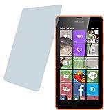 Microsoft Lumia 540 Dual (2 Stück) PREMIUM Displayschutzfolie Bildschirmschutzfolie ANTIREFLEX - KRATZFEST UND PASSGENAU