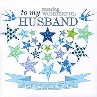 Claire Giles Sherbet Sundaes Happy Birthday Husband Card