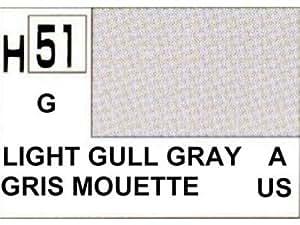 Gunze - Avion Miniature - Peinture maquette Gunze Gris Mouette Brillant - H051