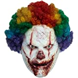 Killer Clown Halloween Maske