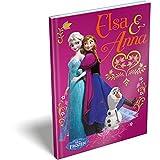Bloc-notes LA REINE DES NEIGES Frozen Disney couverture rigide A6 (13.7x10.5cm) * livret/carnet secret/fourniture/papeterie * L'unité / Model Aléatoire *