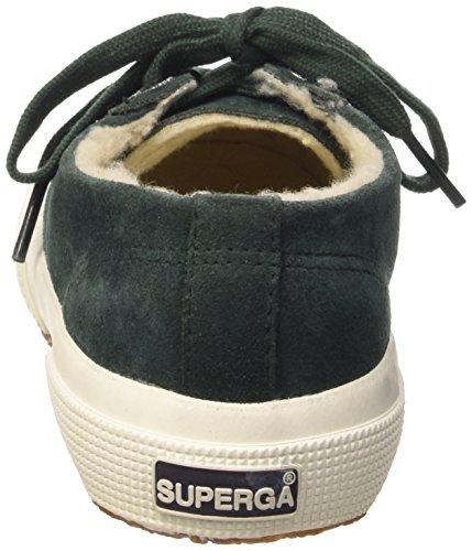 Superga 2750- SUEBINJ S004Z10, Baskets mode mixte enfant Vert - G77 Green Pine