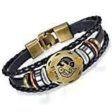 Best Bracelets  Boys - Young & Forever Zodiaco Genuine Leather Star Birth Review